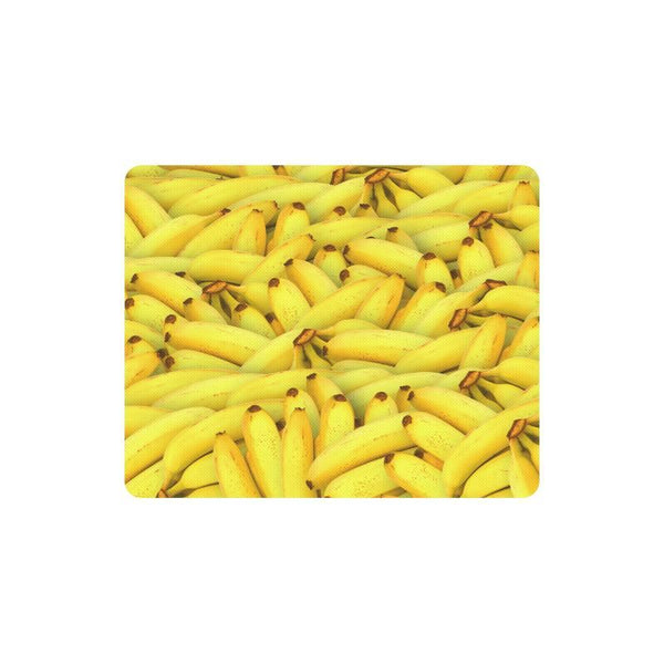 Yellow Bananas Fruit Pattern Rectangle Mousepad