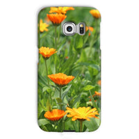 Yellow Flowers Fields Phone Case Galaxy S6 Edge / Snap Gloss & Tablet Cases