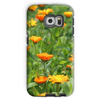Yellow Flowers Fields Phone Case Galaxy S6 Edge / Tough Gloss & Tablet Cases