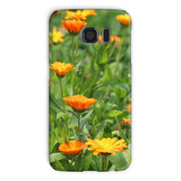 Yellow Flowers Fields Phone Case Galaxy S6 / Snap Gloss & Tablet Cases