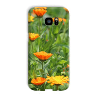 Yellow Flowers Fields Phone Case Galaxy S7 Edge / Snap Gloss & Tablet Cases