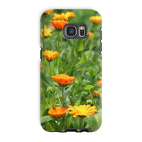 Yellow Flowers Fields Phone Case Galaxy S7 Edge / Tough Gloss & Tablet Cases
