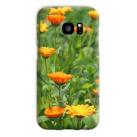 Yellow Flowers Fields Phone Case Galaxy S7 / Snap Gloss & Tablet Cases