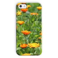 Yellow Flowers Fields Phone Case Iphone 5C / Snap Gloss & Tablet Cases
