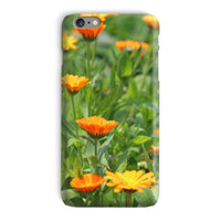 Yellow Flowers Fields Phone Case Iphone 6 Plus / Snap Gloss & Tablet Cases