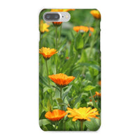 Yellow Flowers Fields Phone Case Iphone 8 Plus / Snap Gloss & Tablet Cases
