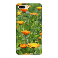 Yellow Flowers Fields Phone Case Iphone 8 Plus / Tough Gloss & Tablet Cases