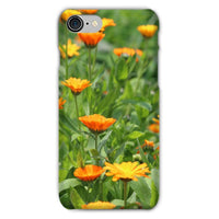 Yellow Flowers Fields Phone Case Iphone 8 / Snap Gloss & Tablet Cases