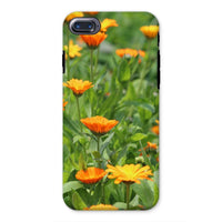 Yellow Flowers Fields Phone Case Iphone 8 / Tough Gloss & Tablet Cases