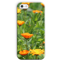 Yellow Flowers Fields Phone Case Iphone Se / Snap Gloss & Tablet Cases