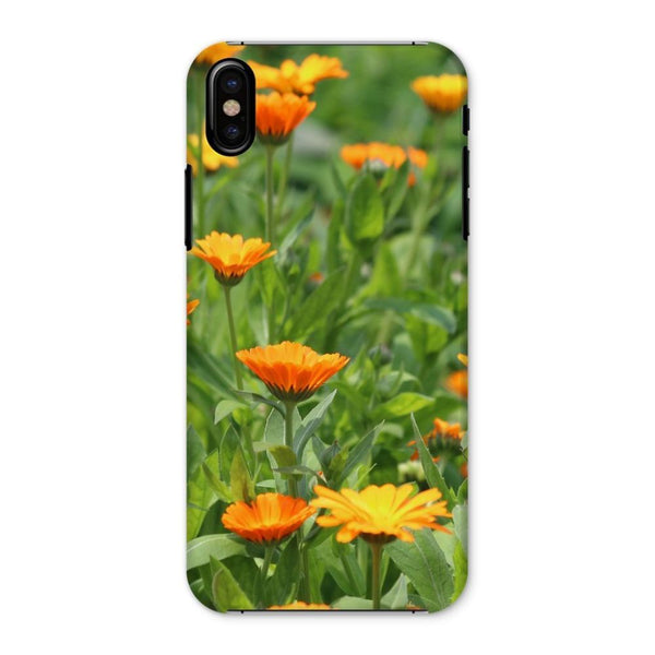 Yellow Flowers Fields Phone Case Iphone X / Snap Gloss & Tablet Cases