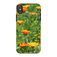 Yellow Flowers Fields Phone Case Iphone X / Tough Gloss & Tablet Cases