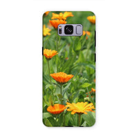 Yellow Flowers Fields Phone Case Samsung S8 Plus / Tough Gloss & Tablet Cases