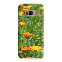 Yellow Flowers Fields Phone Case Samsung S8 / Snap Gloss & Tablet Cases