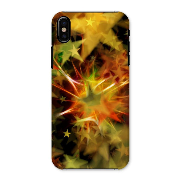Yellow Red And Green Star Phone Case Iphone X / Snap Gloss & Tablet Cases