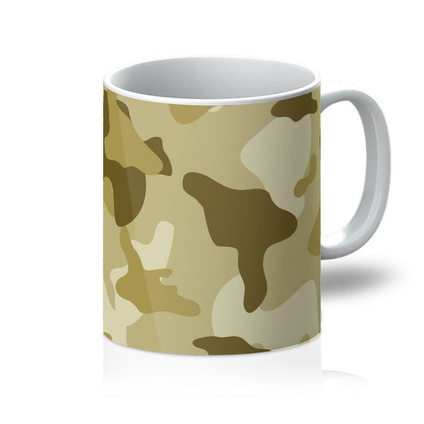 Yellow Sand Camo Mug 11Oz Homeware