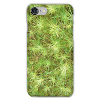 Young Green Plants Phone Case Iphone 8 / Snap Gloss & Tablet Cases