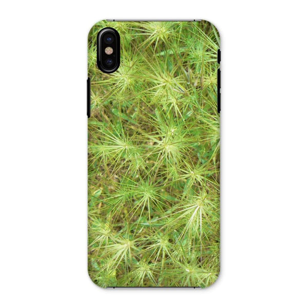 Young Green Plants Phone Case Iphone X / Snap Gloss & Tablet Cases