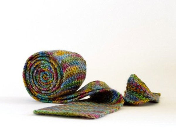 Extra Long Knitted Ties