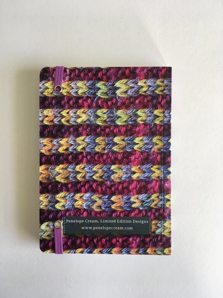Agate 'Knitted' Notebook A6