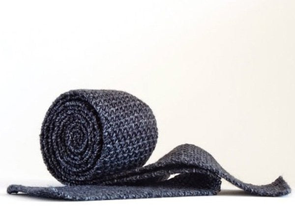 Grey Knitted Ties