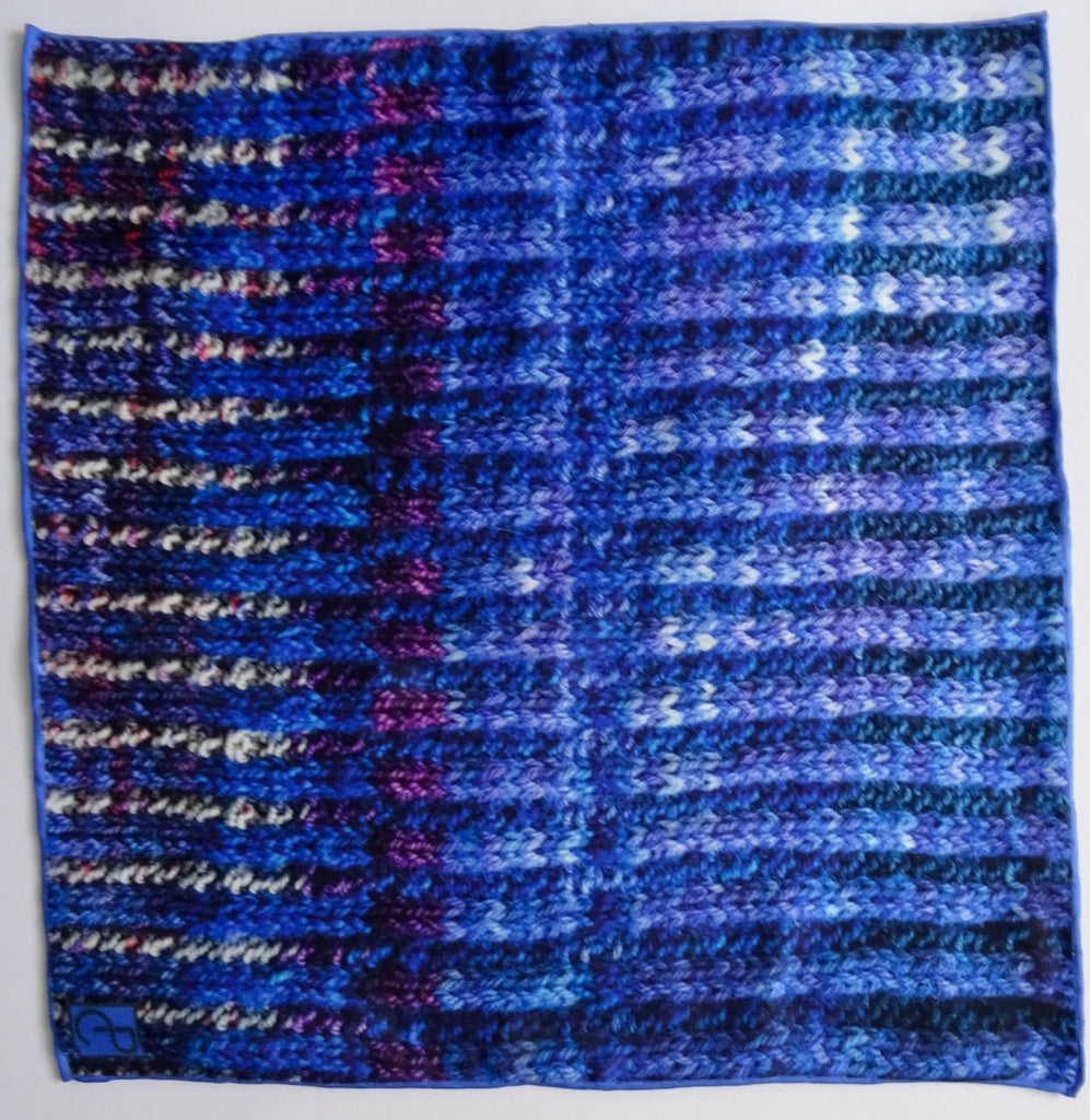 Lazurite Silk Pocket Square