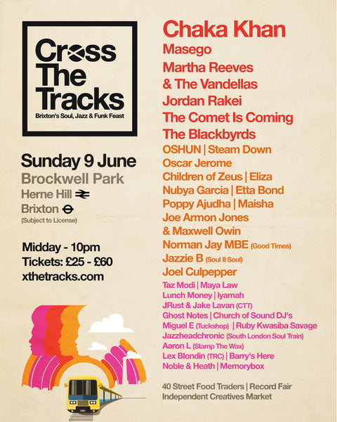 Blanguage Online - Cross The Tracks Festival - Chaka Khan headline