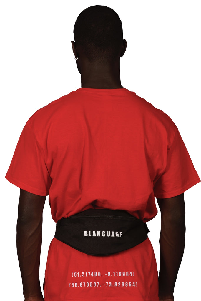 Blanguage Anniversary Waist Belt Bag Black