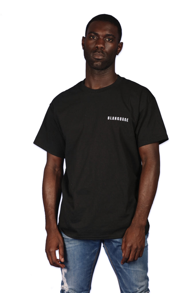 Blanguage Anniversary Tee Black