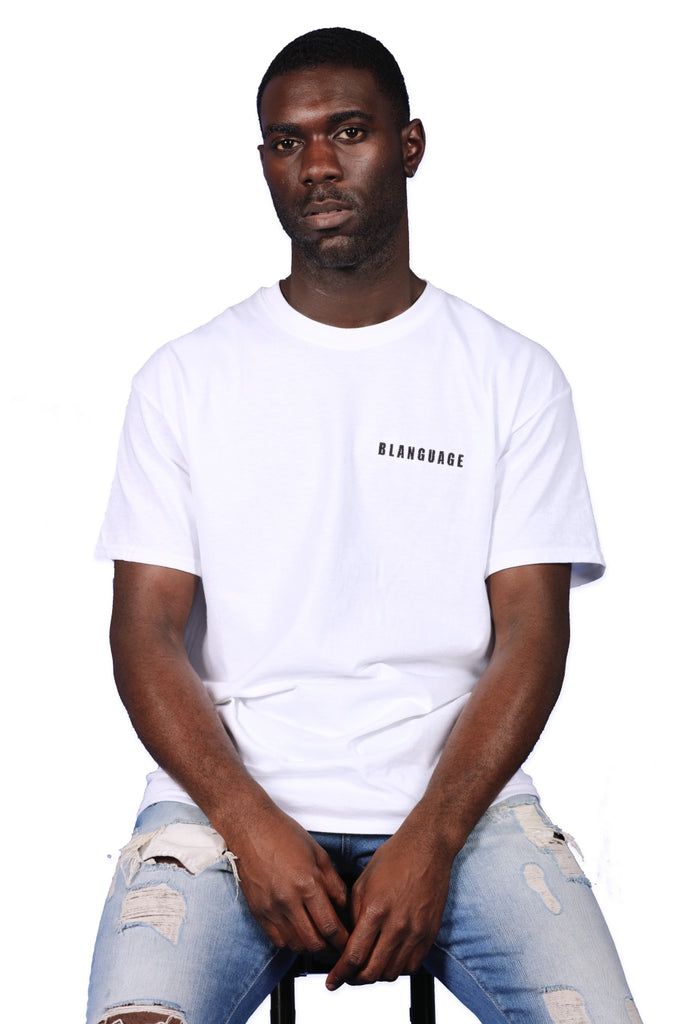 Blanguage Anniversary Tee White