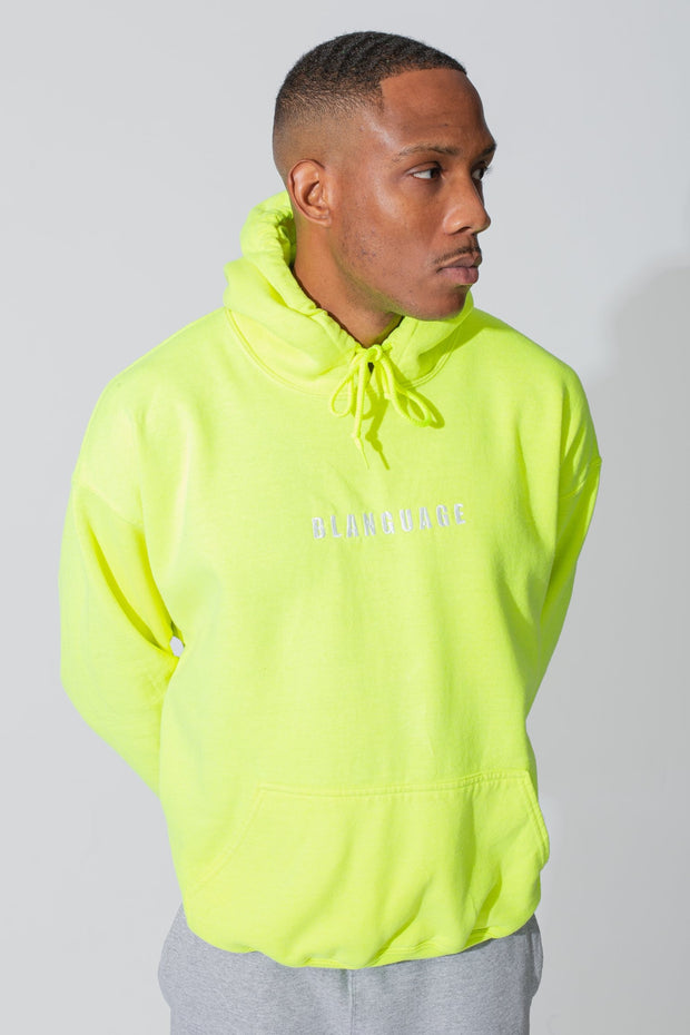 Essential Limited Green Hoodie - BLANGUAGE ONLINE