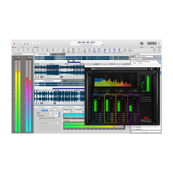 MAGIX SOUND FORGE Pro Mac 3 – JDStore Tech