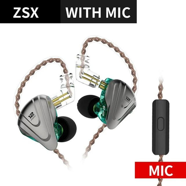 High Volume HIFI Mic Earbuds With Detachable Cable