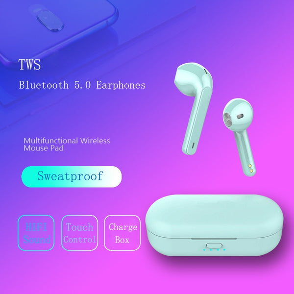 Wireless Bluetooth 5.0 Touch Control Earbud For Phone