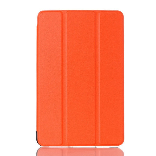 Leather Shockproof Tri-Fold Stand Holder Flip Closure Tablet Cover