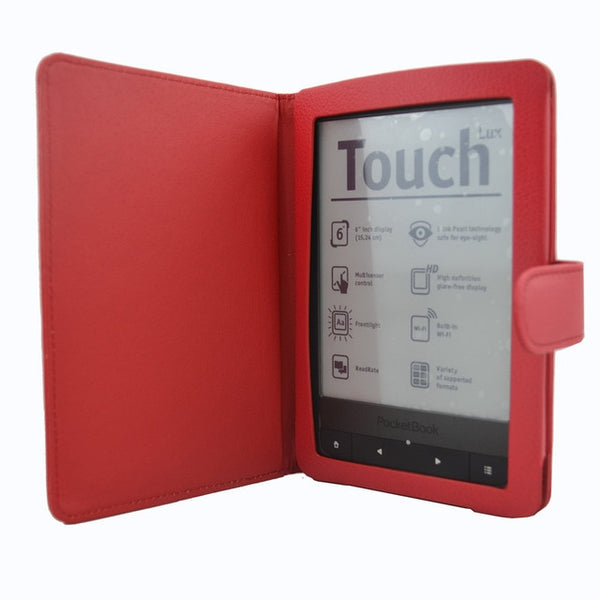 Leather Shockproof Bifold With Magnetic Flip Tablet Cover