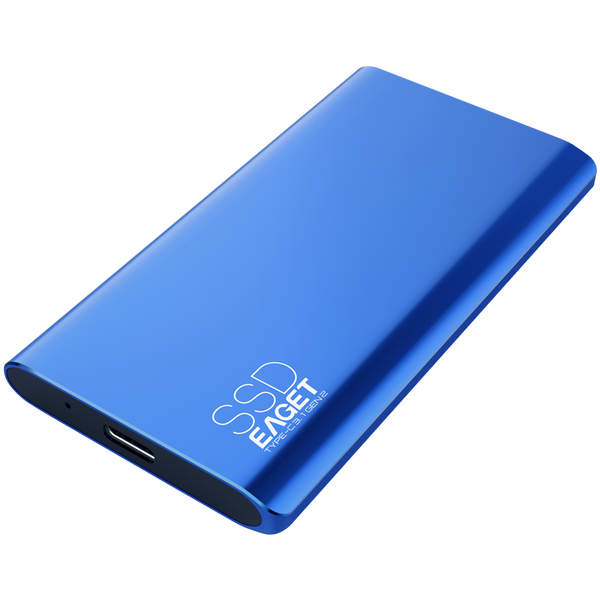 512GB to 1TB USB 3.0 Type-C High Speed External Solid State Drive