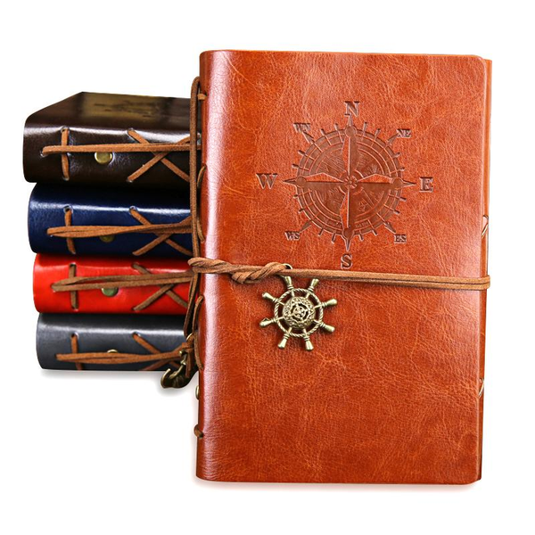 Leather Cover With Small Strap Agenda Planner Notebook