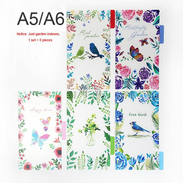 Multi-Function Transparent Inner Spiral Planner Notebook Cover