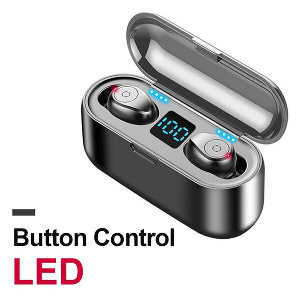 Wireless Bluetooth 5.0 Touch Control Earbud With Charging Box