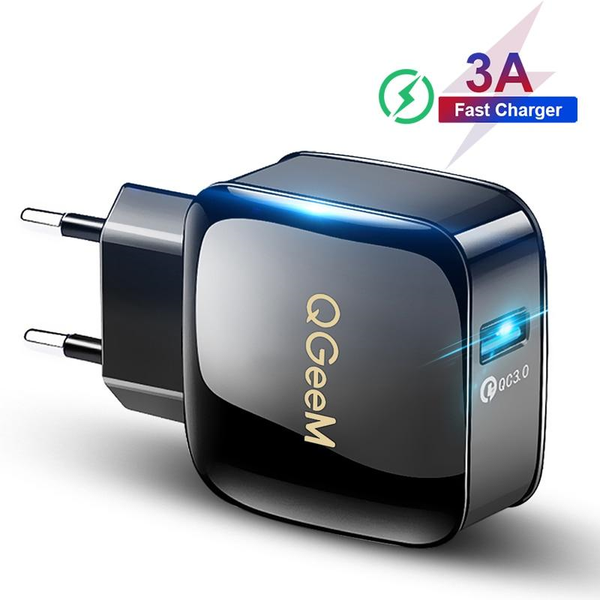 Wireless 3.0 USB Quick Charger Portable Adapter For Phone