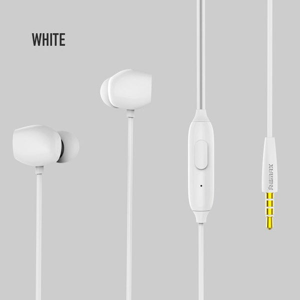 3.5mm Wired High Capacity Volume Button Earphone For Phone