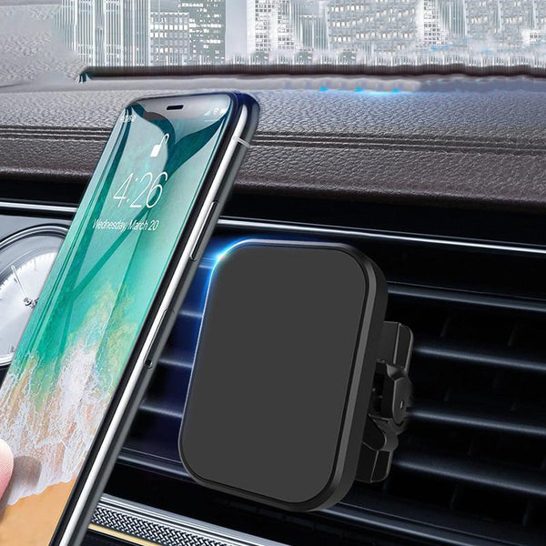 Alloy Magnetic Stand Air Vent Mount Car Phone Holder