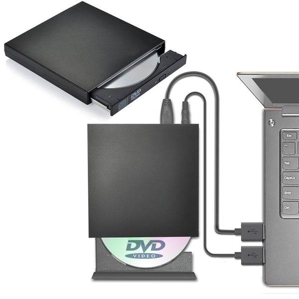USB DVD Drive Optical External Player Burner