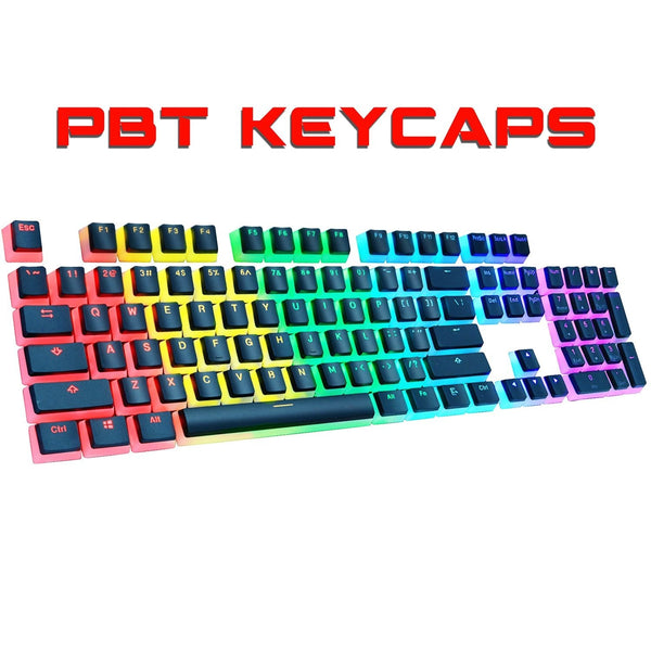 Gaming Double Shot Backlit Pudding Keycap Set Mechanical Keyboard