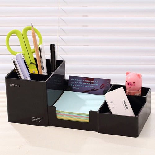 Multi-Function Pen Stationery Stand Holder Desktop Organizer