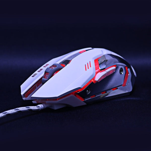 Optical USB Wired Backlit Gamer Mouse With 6 Buttons and 1 Roller