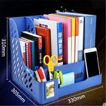 Multi-Port Document Stand Holder Desktop Organizer