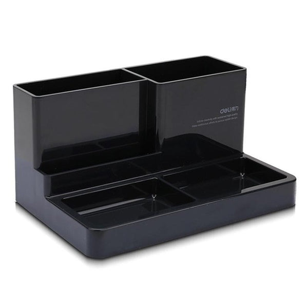 Multi-Port Office Desktop Stand Pen Storage Stationery Holder