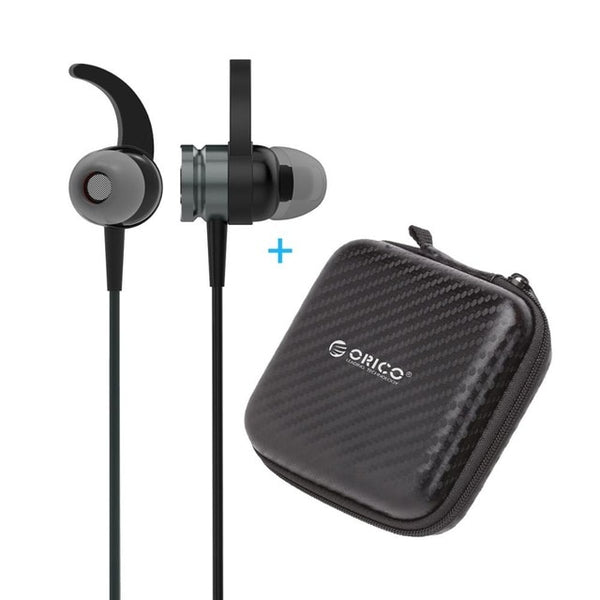 Thin Wired Anti-Slip HIFI Stereo Speakers In-Ear With 3 Buttons